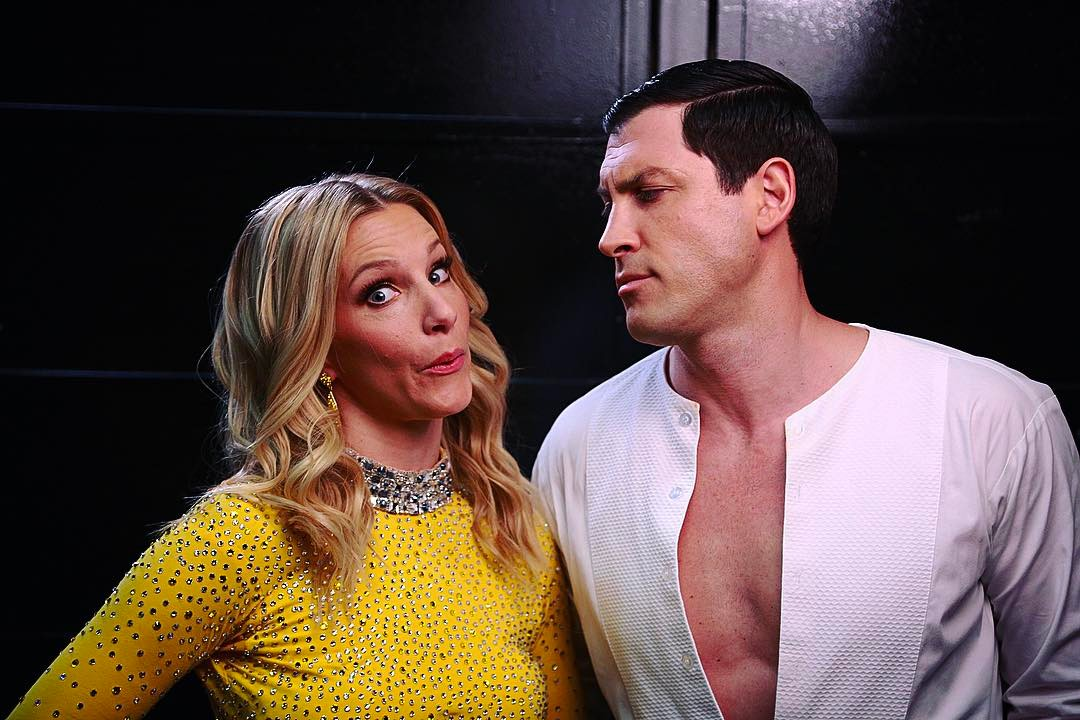 Maksim Chmerkovskiy and Heather Morris