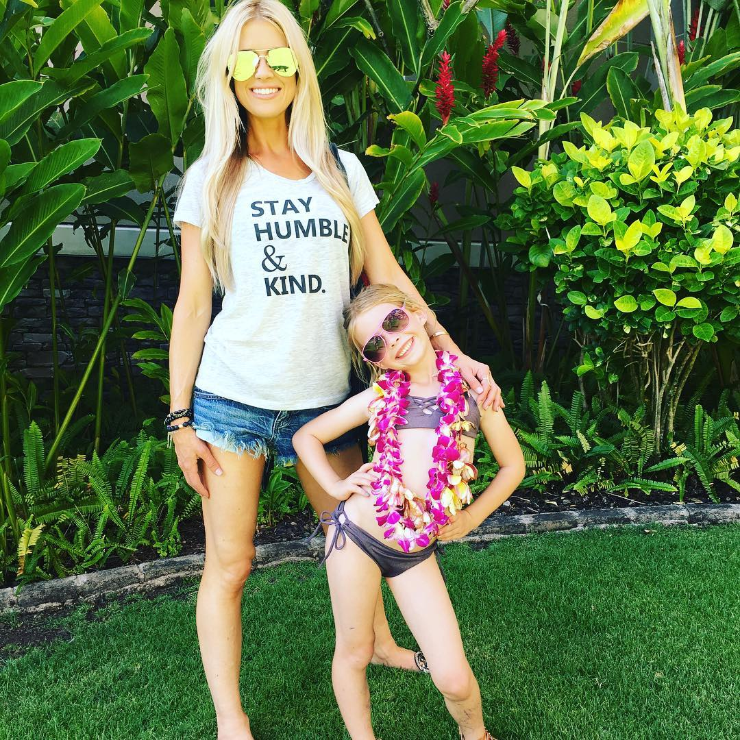 Christina El Moussa and her daughter Taylor