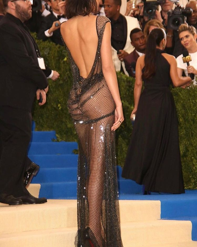 Kendall Jenner at the 2017 MET Gala