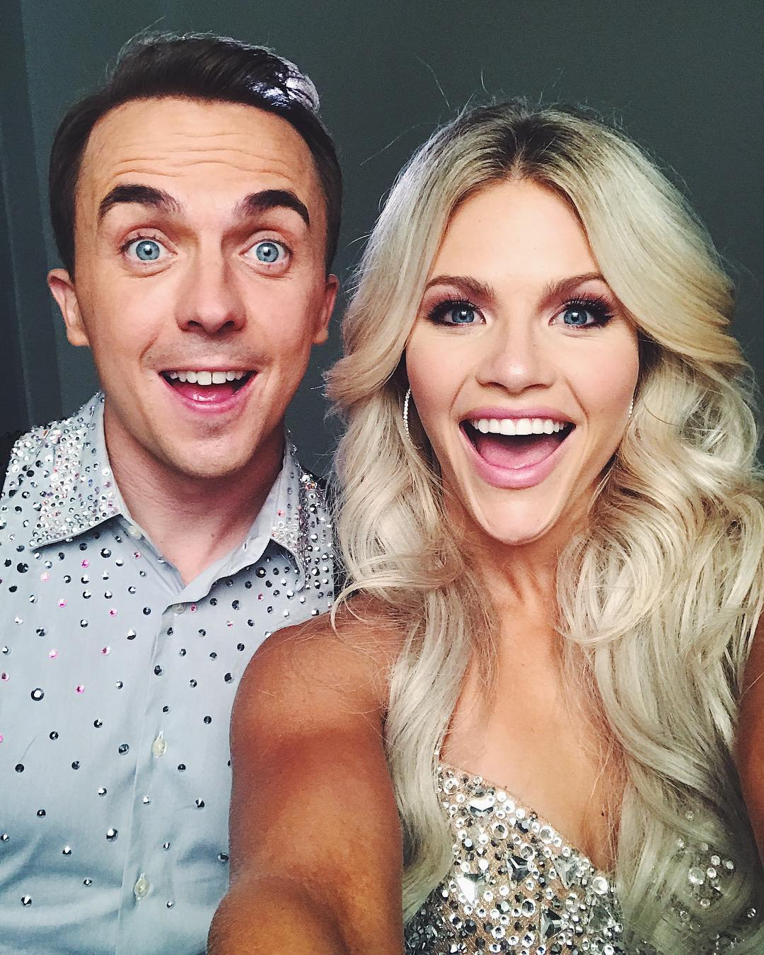Witney Carson and Frankie Muniz
