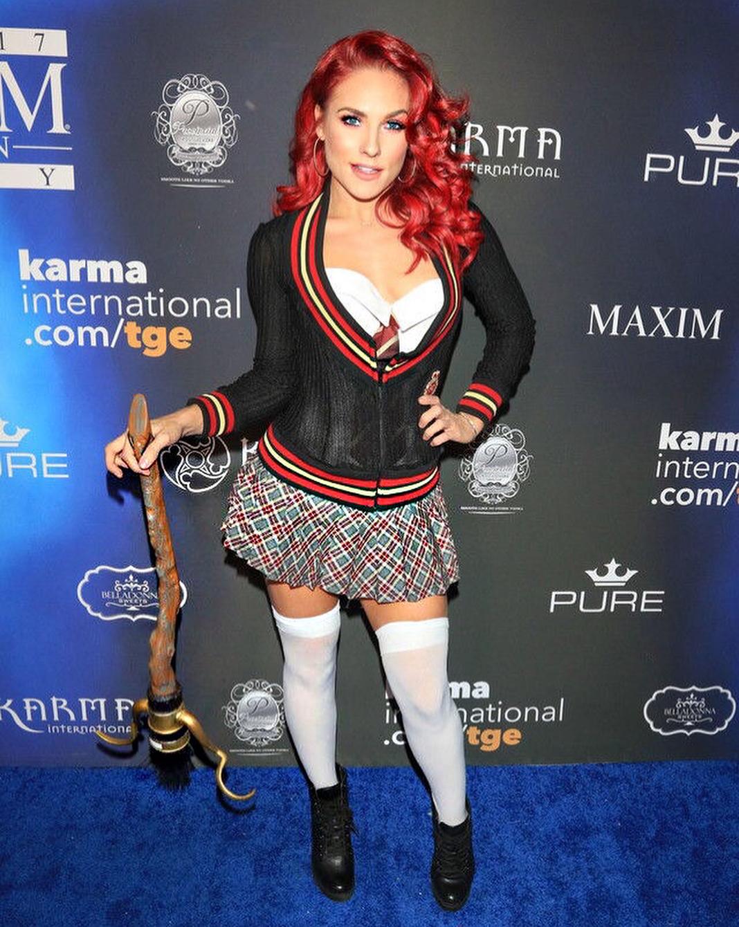 Sharna Burgess Halloween costume