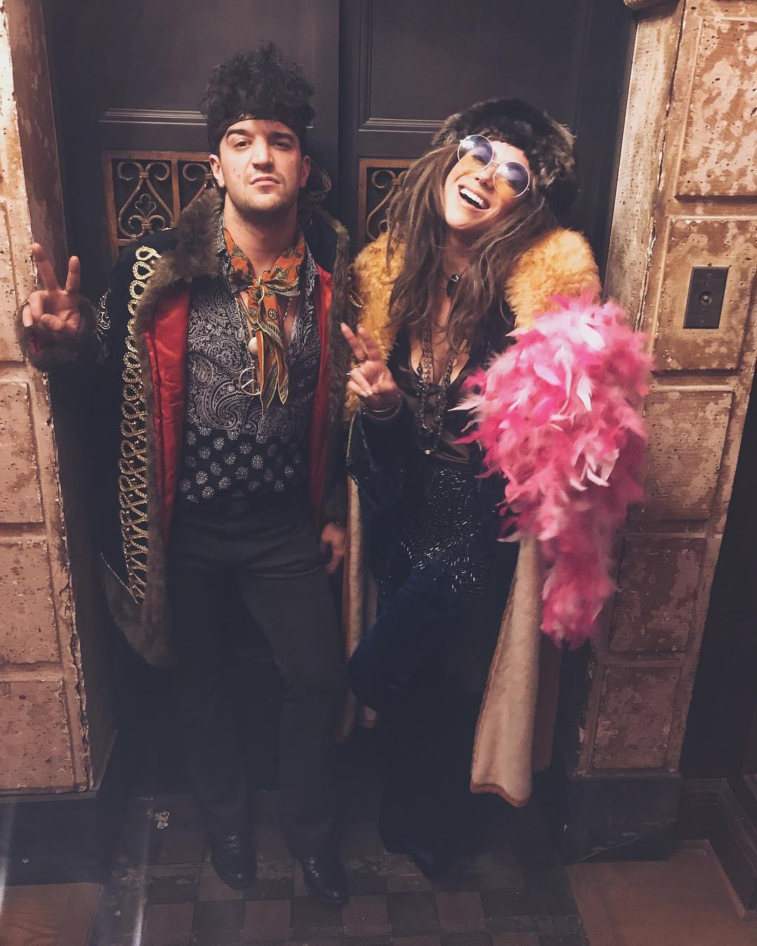 Mark Ballas and BC Jean Halloween costumes