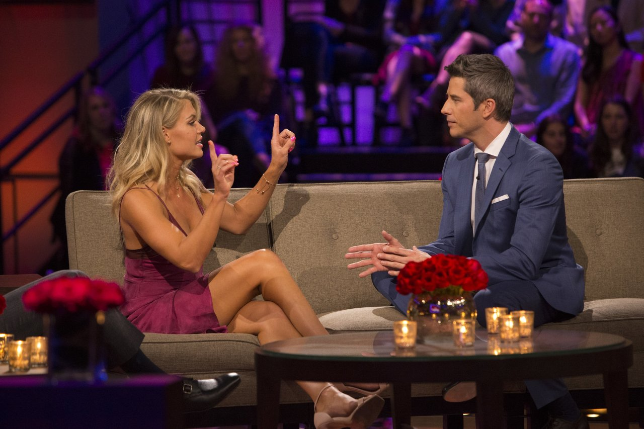 Krystal Nielson and Arie Luyendyk Jr. - The Bachelor: The Women Tell All