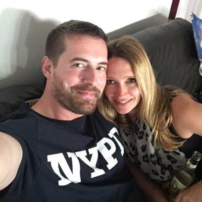Matt Grant and Rebecca Moring