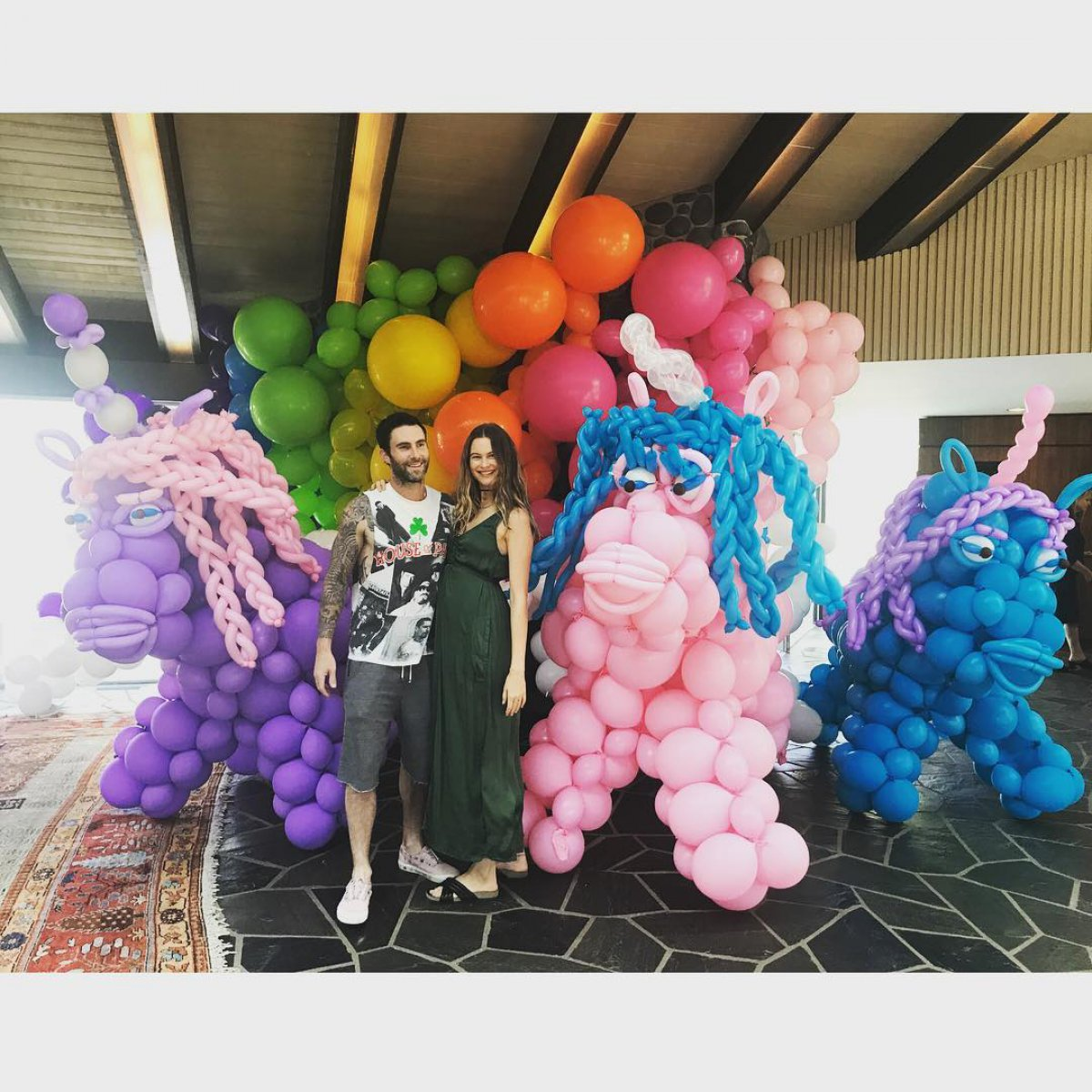 Adam levine celebrates his daughter dusty roses first birthday behati prinslooinstagram nvjuhfo Images