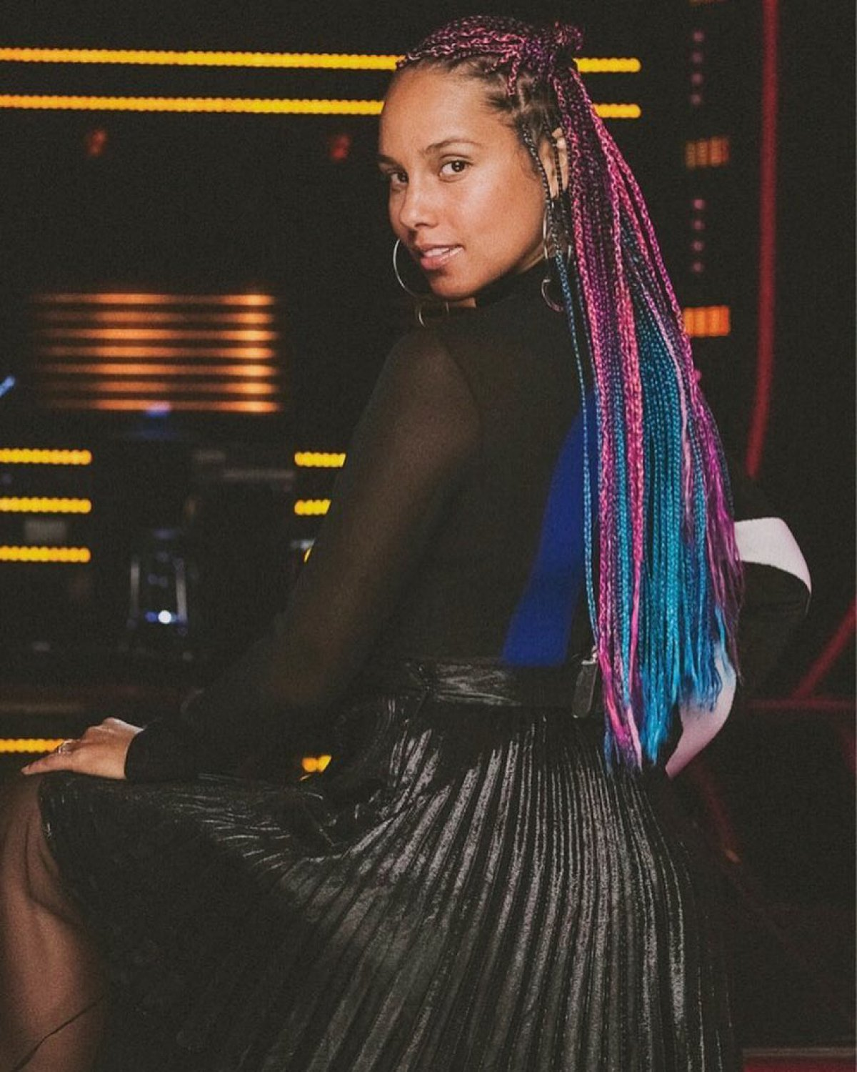 Alicia keys returning as coach for the voice season 14 with adam alicia keysinstagram nvjuhfo Images