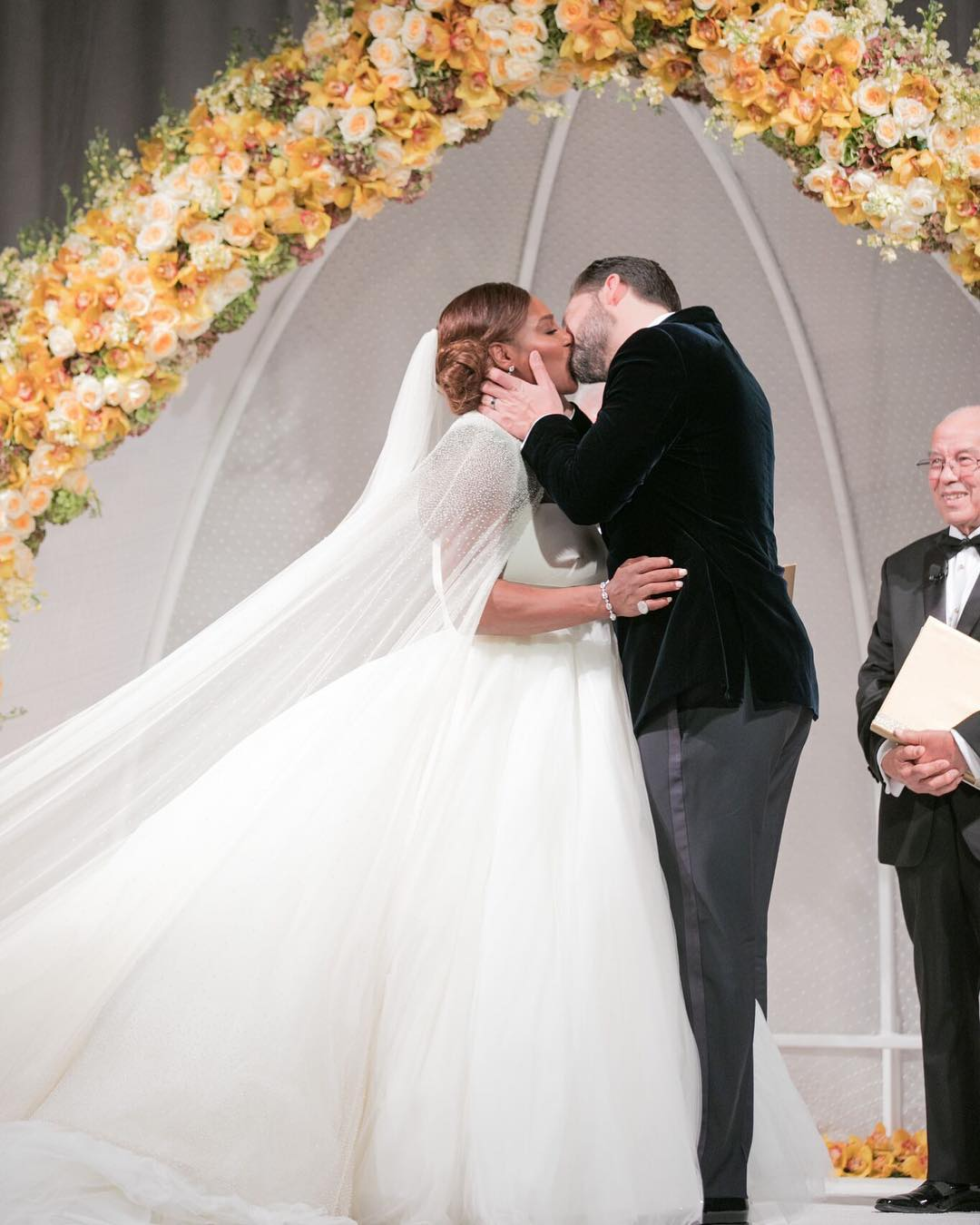 Serena Williams and Alexis Ohanian get married in New ...