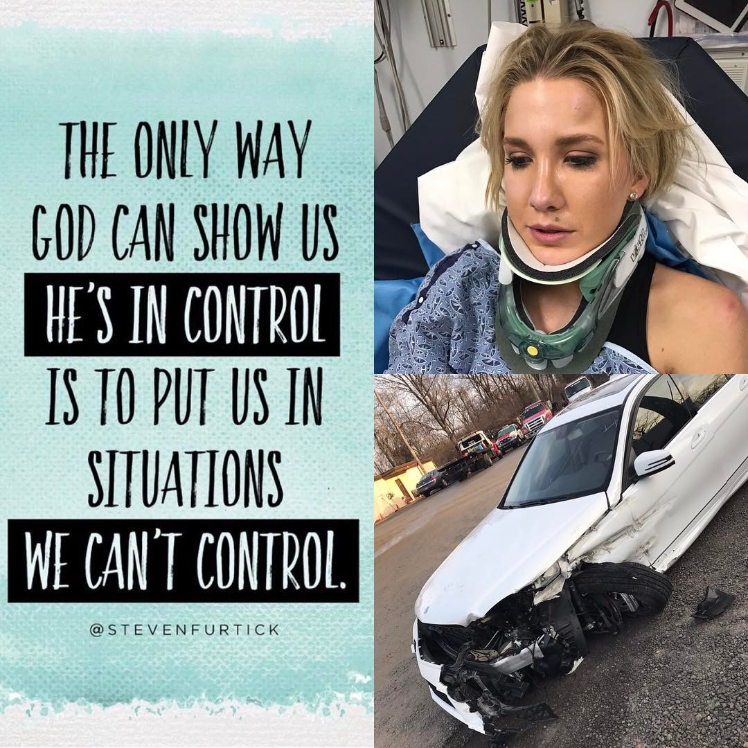 Savannah Chrisley Fractures Vertebrae In Car Crash Opens