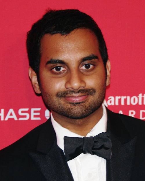 Aziz ansari getting serious with girlfriend courtney mcbroom reality