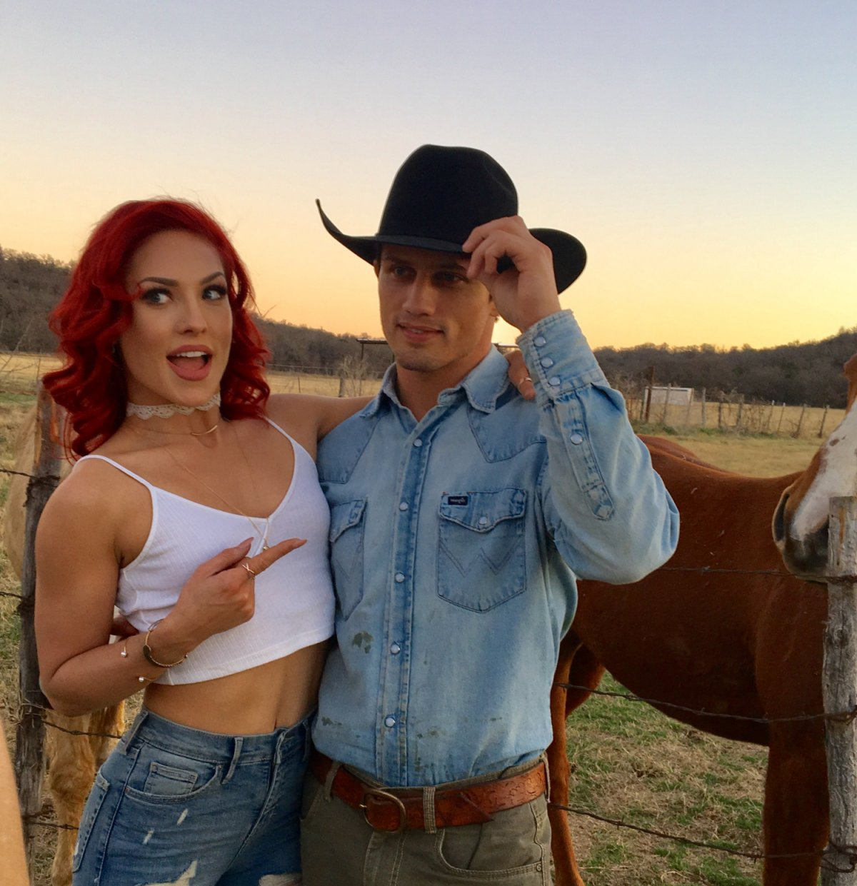 Bonner Bolton and Sharna Burgess