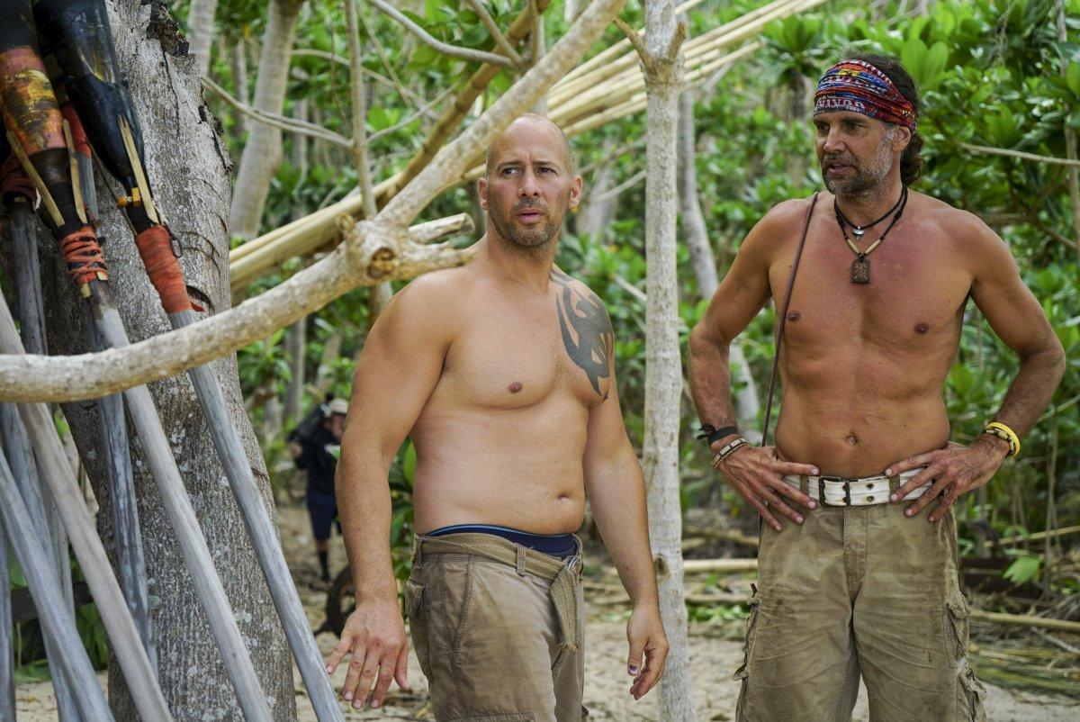 Troy 'Troyzan' Robertson and Tony Vlachos