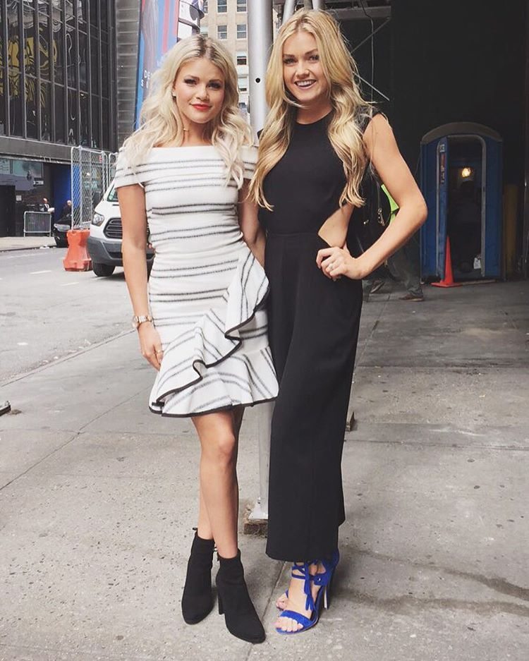 Witney Carson and Lindsay Arnold