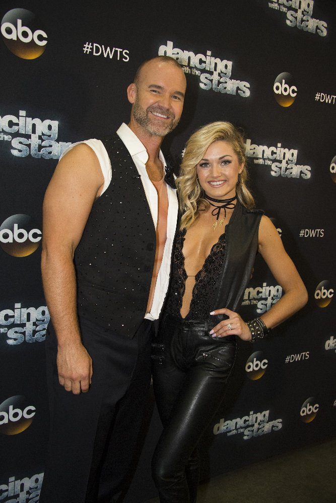 Lindsay Arnold and David Ross