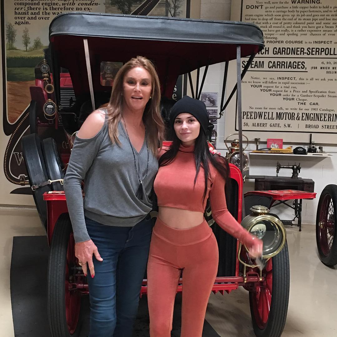 Caitlyn Jenner and Kylie Jenner