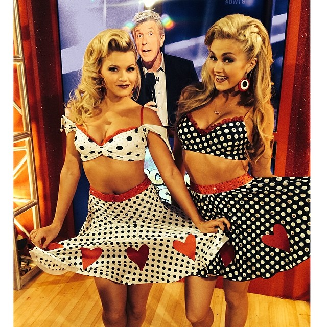 Lindsay Arnold and Witney Carson