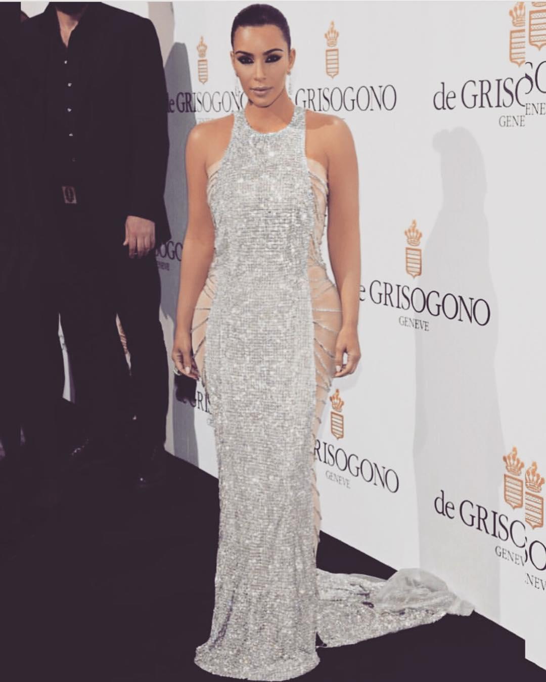 Kim Kardashian in Cannes