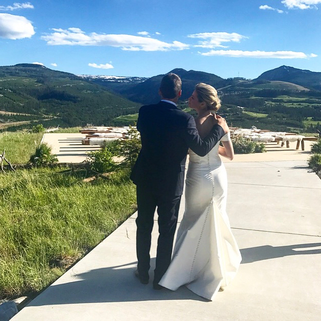 Erin Andrews and Jarret Stoll Wedding Photo