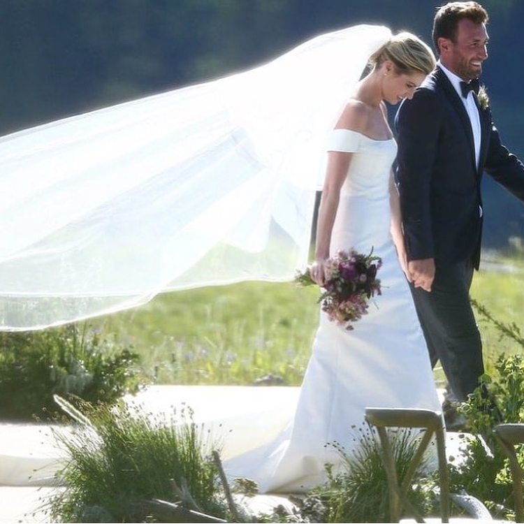 Erin Andrews and Jarret Stoll Wedding Photo