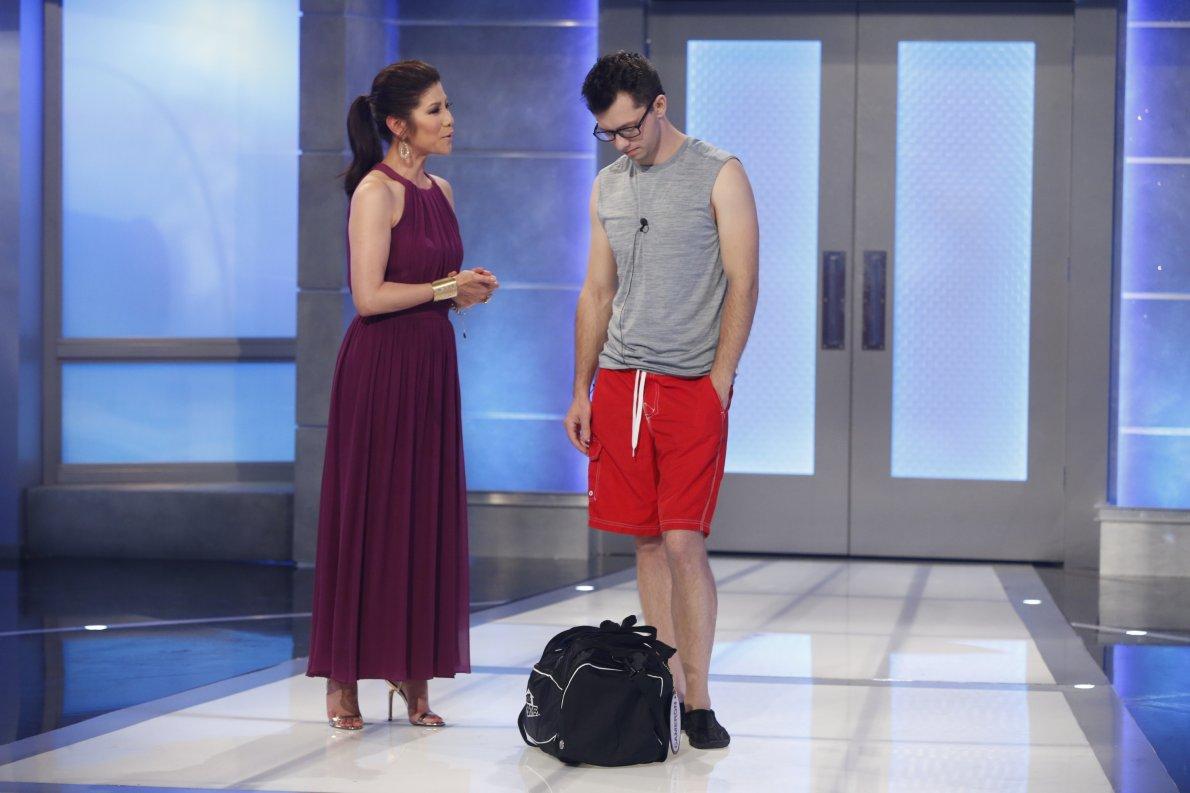 Cameron Heard and Julie Chen