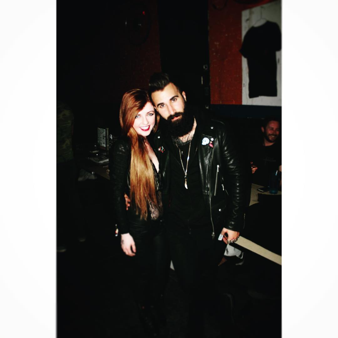 Raven Walton and Paul Abrahamian