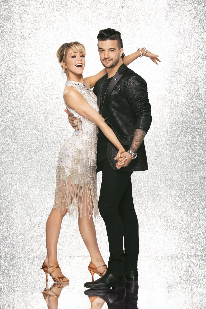 Lindsey Stirling and Mark Ballas