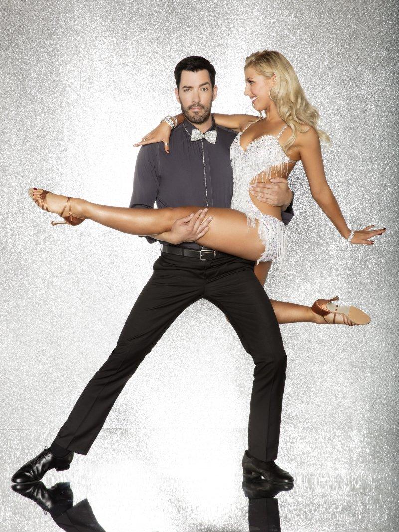 Drew Scott and Emma Slater
