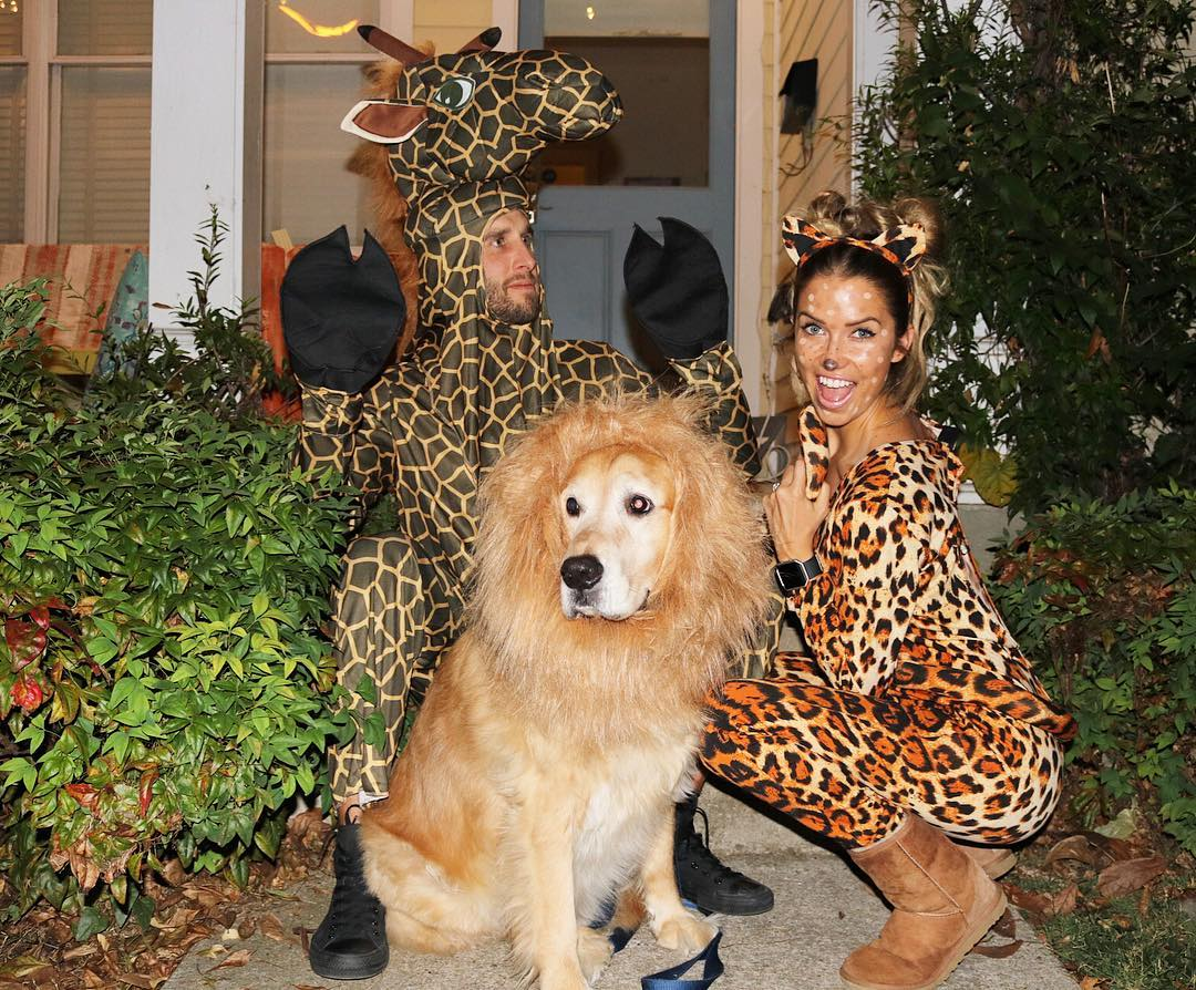 Kaitlyn Bristowe and Shawn Booth Halloween costumes