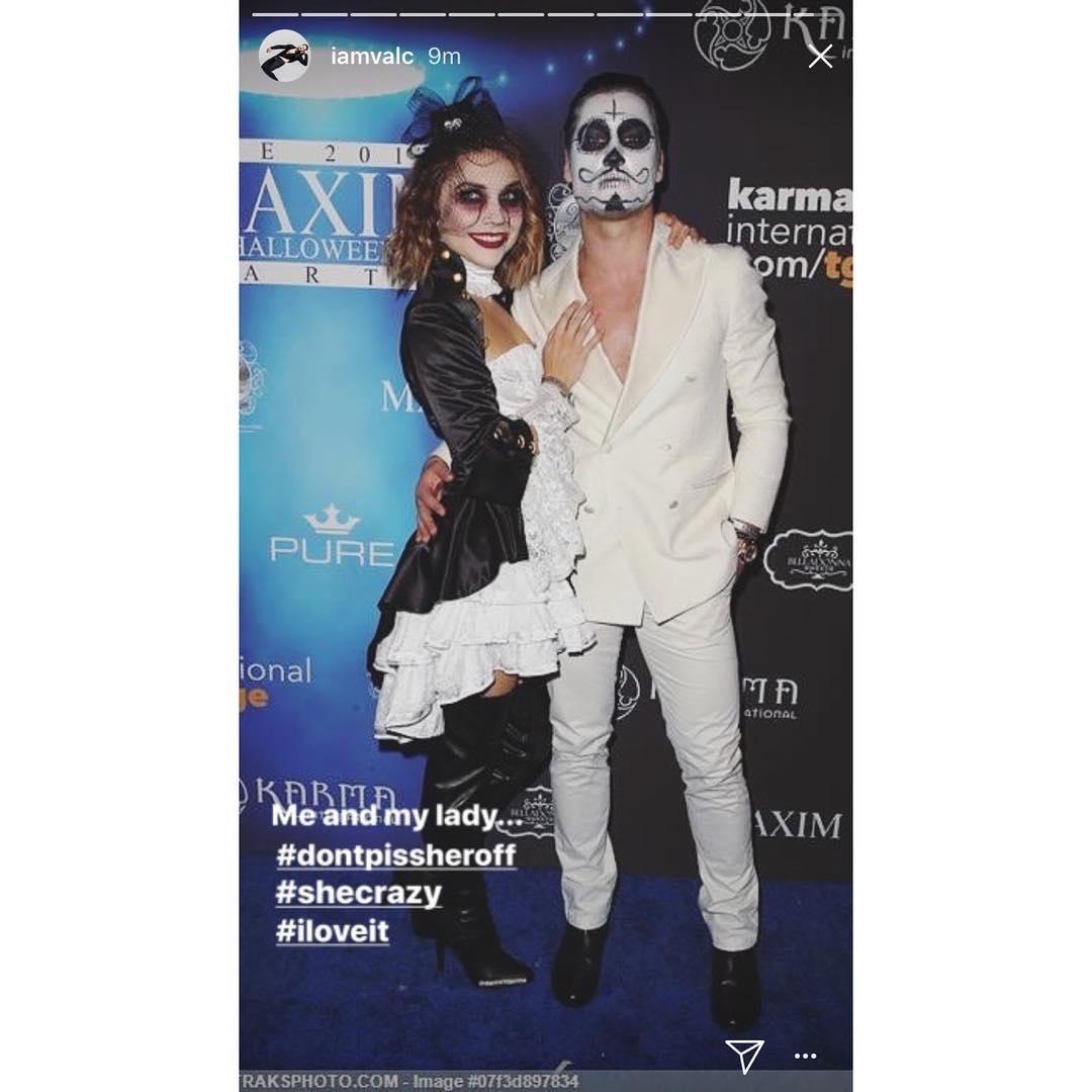 Val Chmerkovskiy and Jenna Johnson Halloween costumes