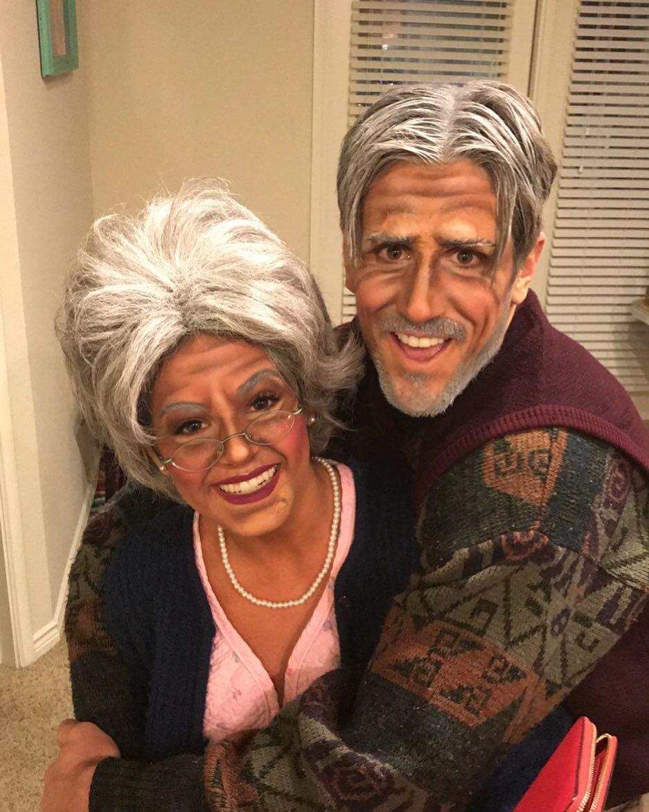 JoJo Fletcher and Jordan Rodgers Halloween costumes