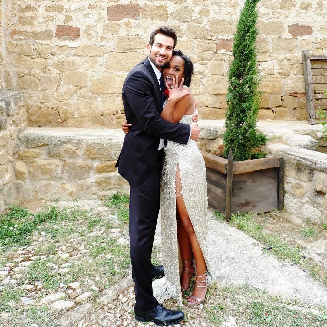 Rachel Lindsay and Bryan Abasolo