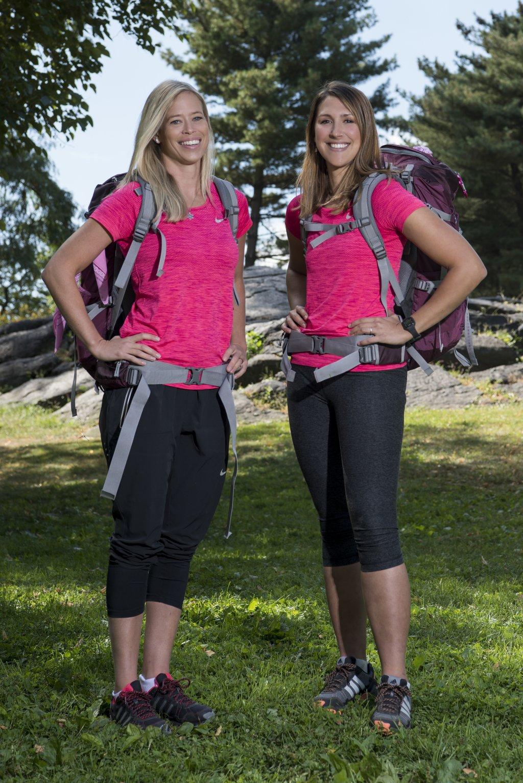 Jen Hudak and Kristi Leskinen