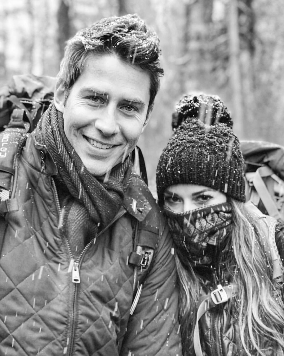 Tia Booth and Arie Luyendyk Jr.