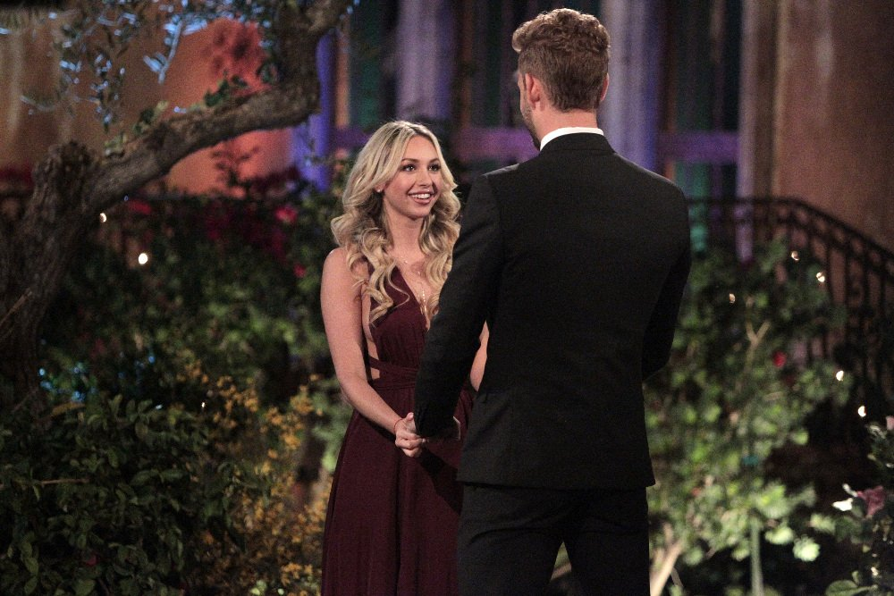 Corinne Olympios and Nick Viall