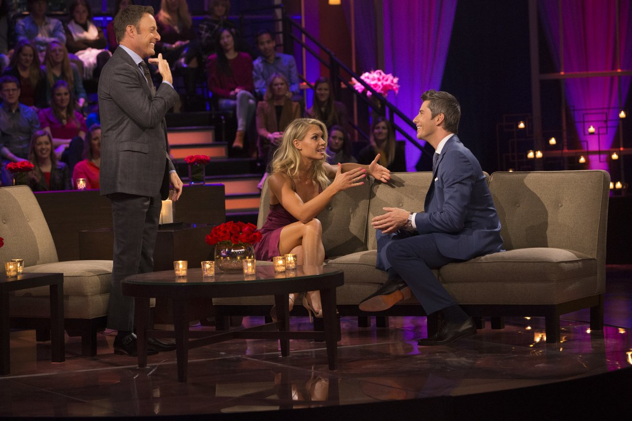 Krystal Nielson and Arie Luyendyk Jr. - The Bachelor: The Women Tell All