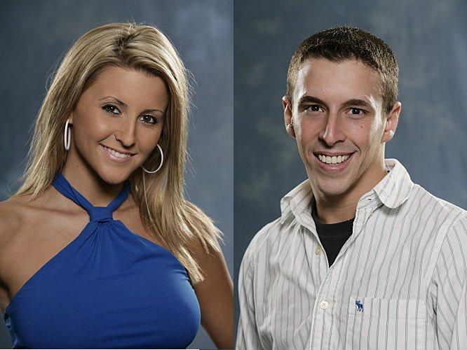 Jessica Hughbanks and Eric Stein - Big Brother, Season 8
