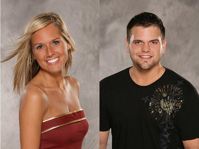 Jen DiTurno and Ryan Quicksall - Big Brother, Season 9