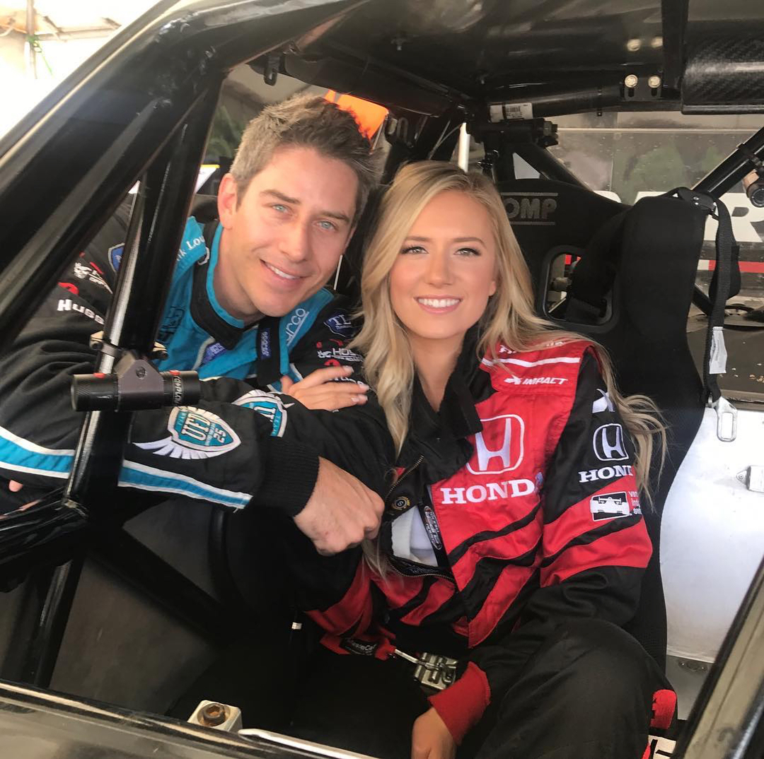 Arie Luyendyk Jr. and Lauren Burnham