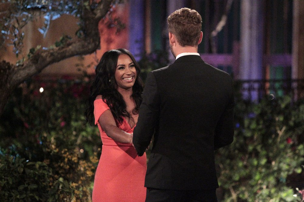 Dominique Alexis and Nick Viall