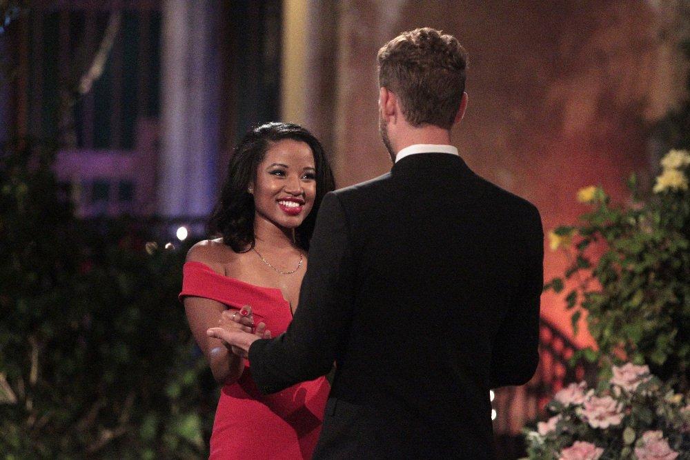 Jasmine Brown and Nick Viall