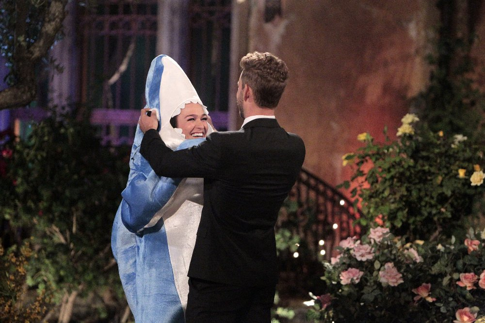 Alexis Waters and Nick Viall