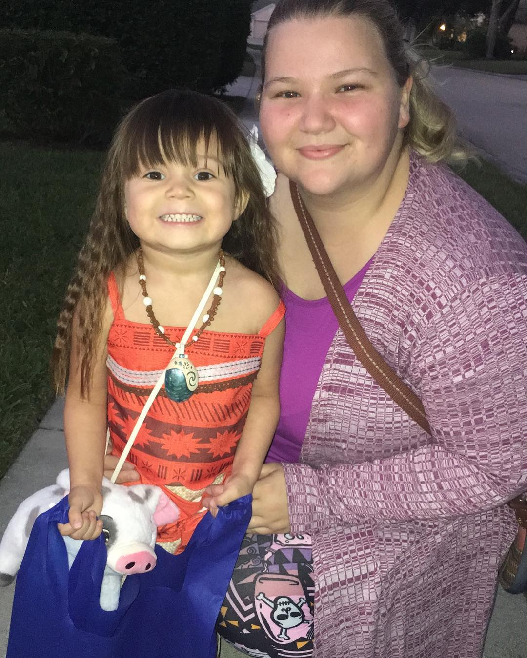 Nicole Nafziger and her daughter May