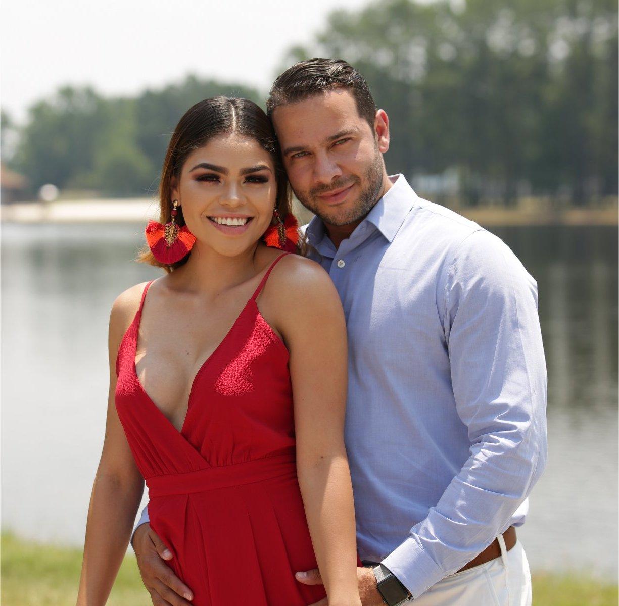 Jonathan Rivera and Fernanda Flores