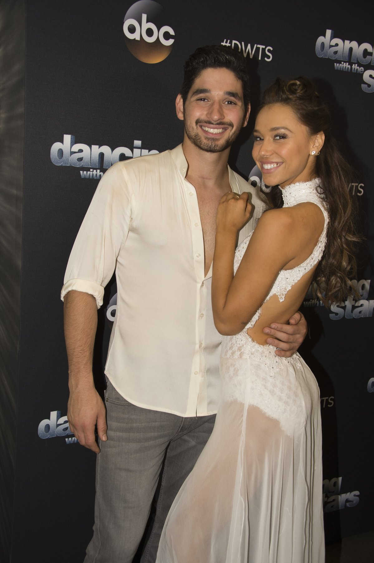 Alexis Ren and Alan Bersten