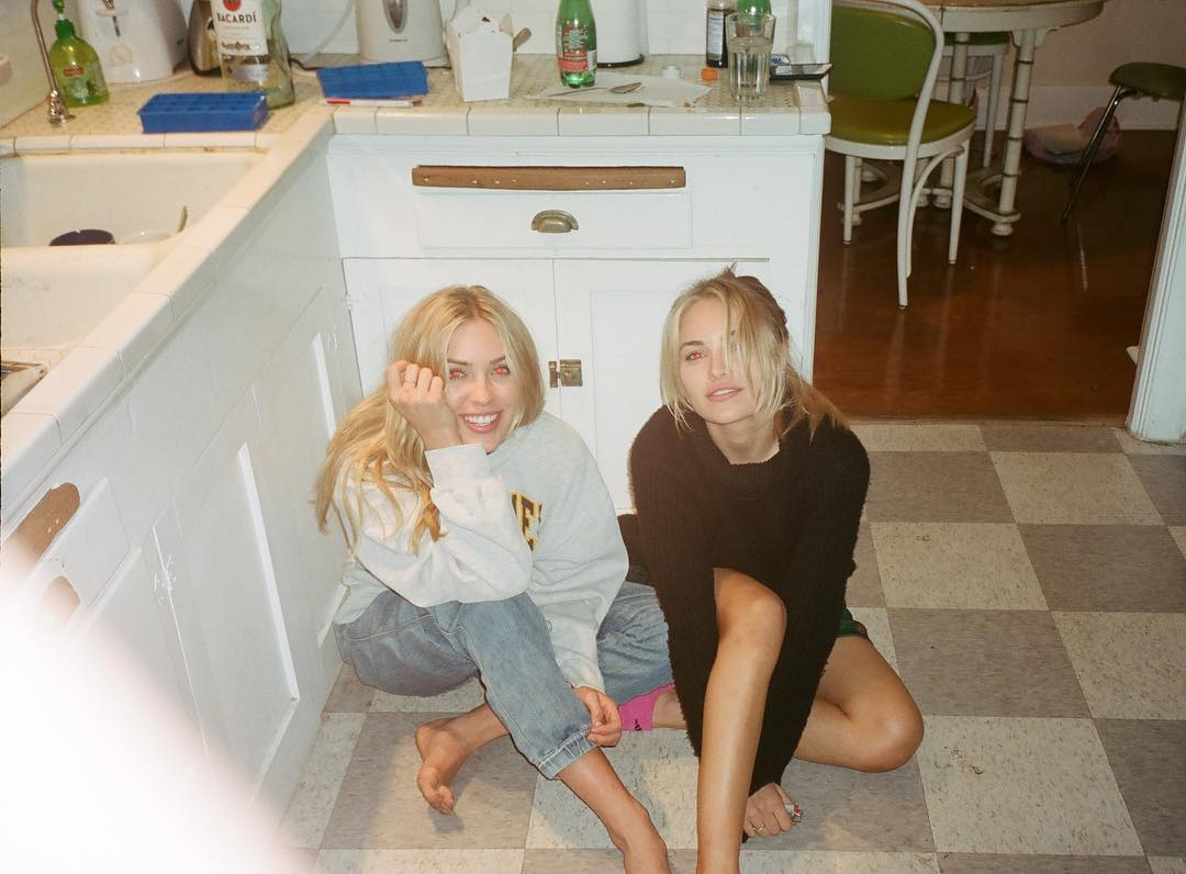 Cassie Randolph and Michelle Randolph