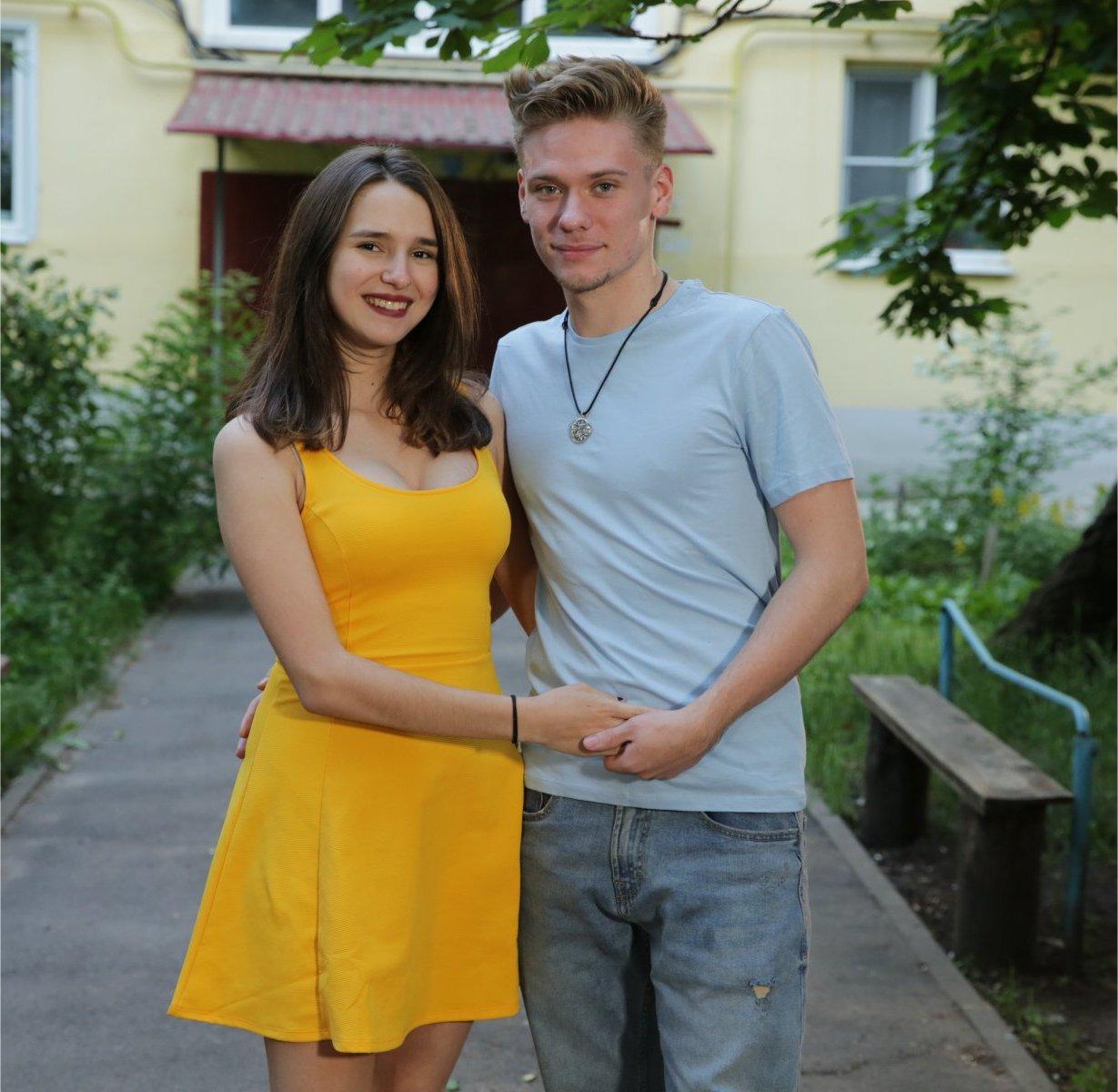 Steven Frend and Olga Koshimbetova