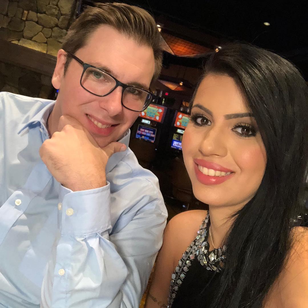 Colt Johnson and Larissa Christina Dos Santos Lima