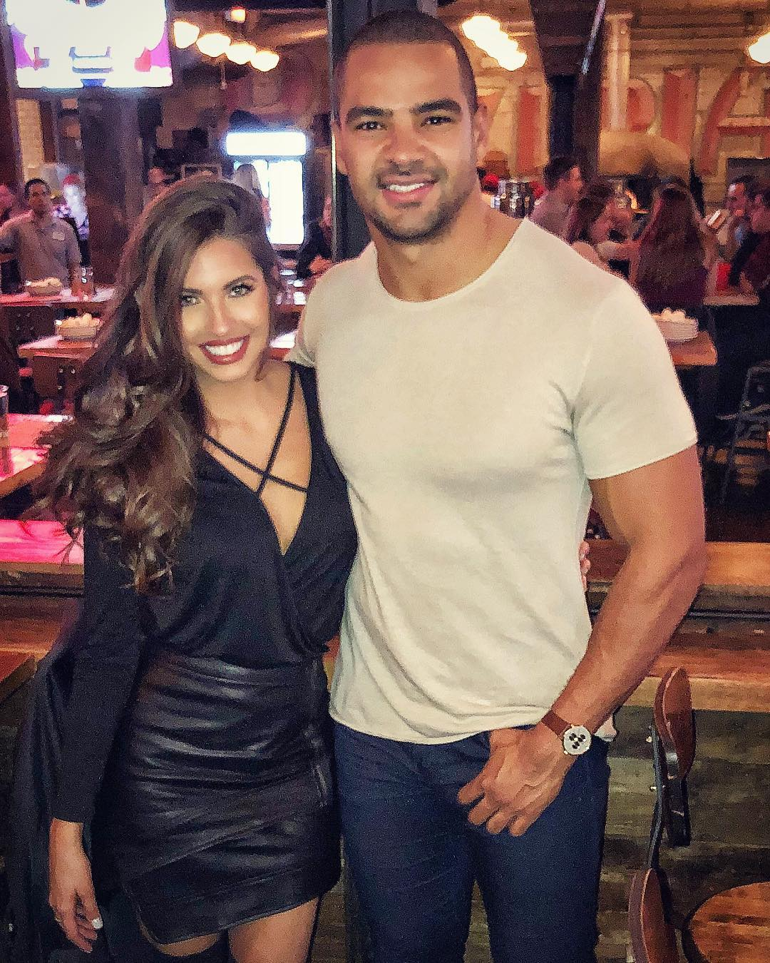 Clay Harbor and Angela Amezcua
