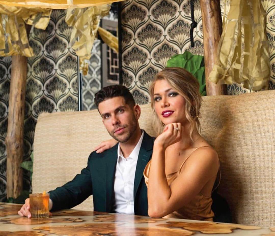 Krystal Nielson and Chris Randone