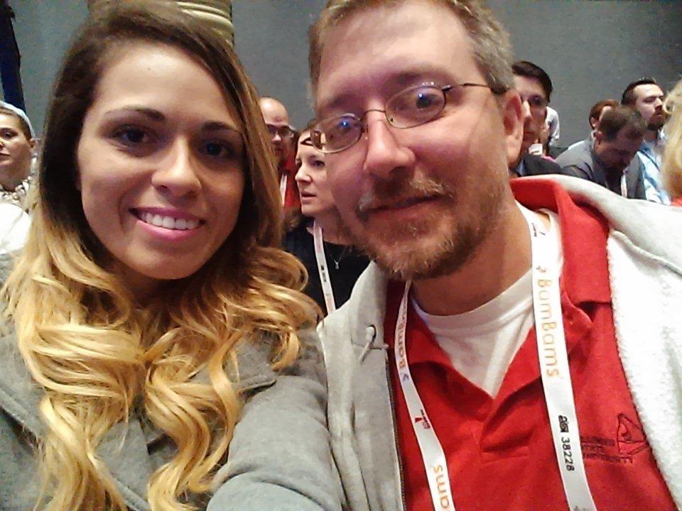 Jason Hitch and Cassia Tavares