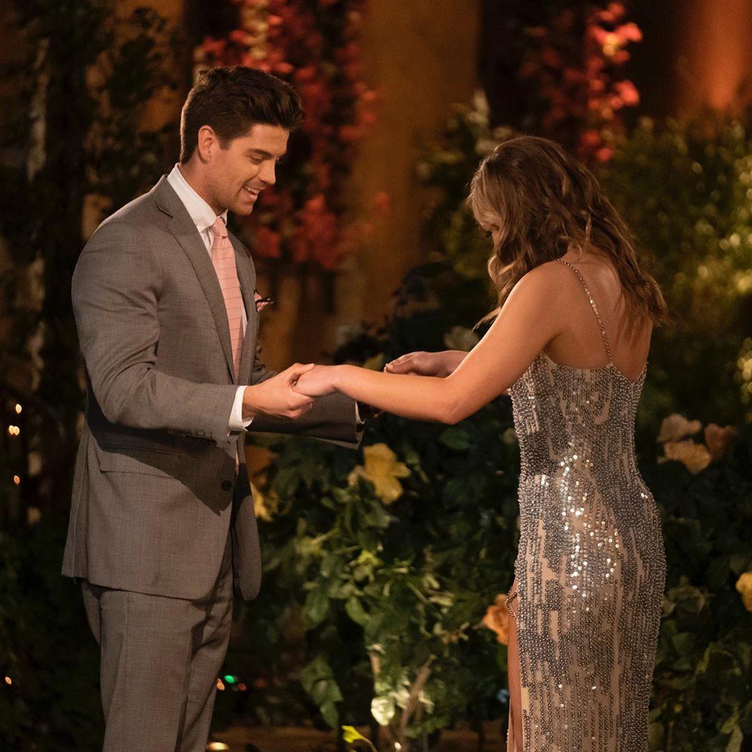 Garrett Powell and Hannah Brown